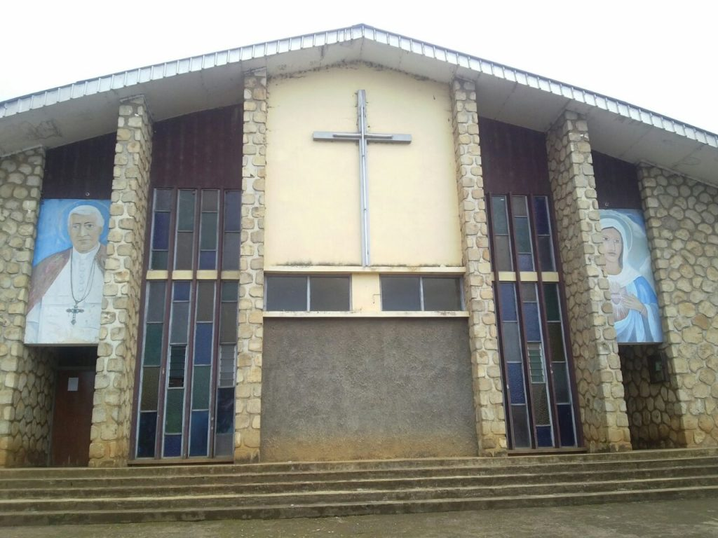 Church Main Entrance